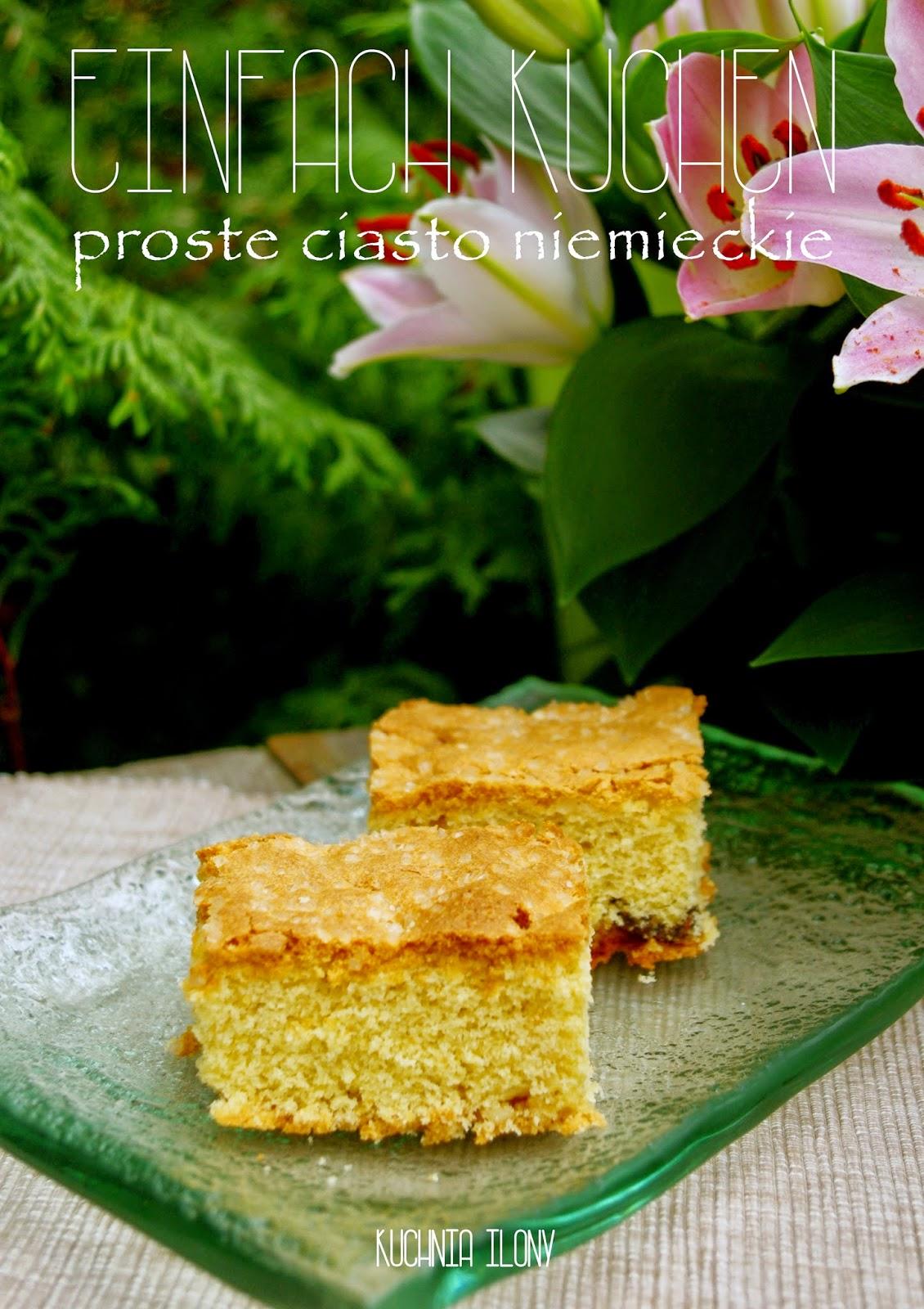 ciasto, proste ciasto w 30 minut, szybkie ciasto, ciasto niemieckie, einfach kuchen,