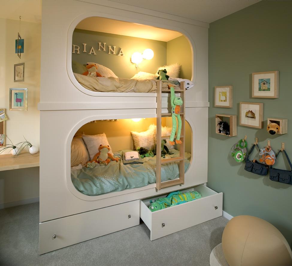 Literas originales para una habitaci n infantil ideas - Literas infantiles divertidas ...