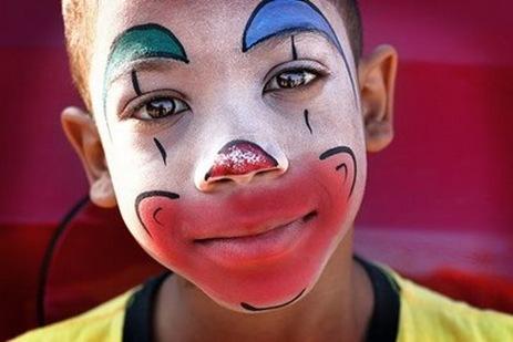 Imagenes para pintar caritas de payasos de niños - Imagui