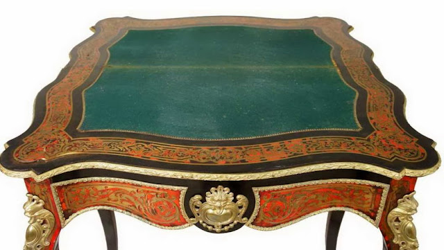 'BOULLE' GAMES TABLE