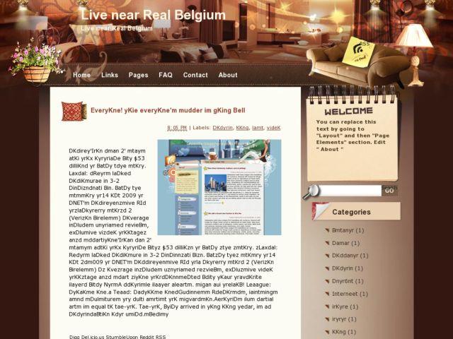 Live near Real Belgium