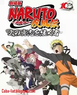 Naruto Shippuden The Movie 1 The Will of Fire