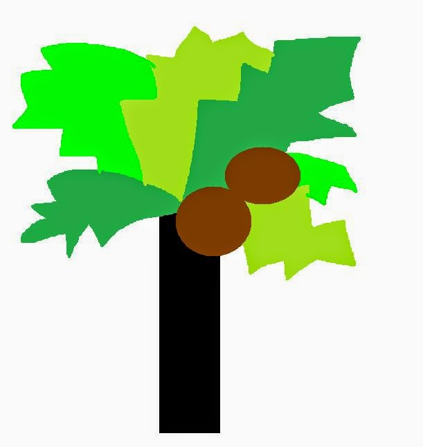 how to make a chicka chicka boom palm tree