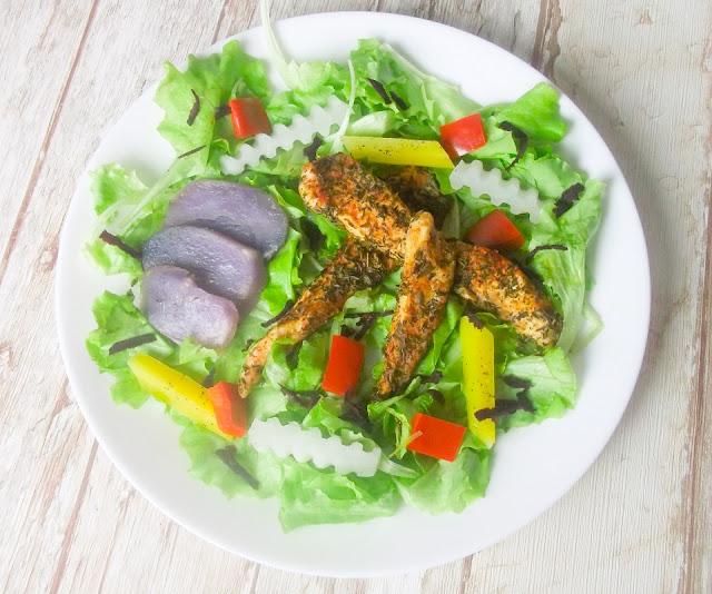 kurczak z warzywami z parowaru