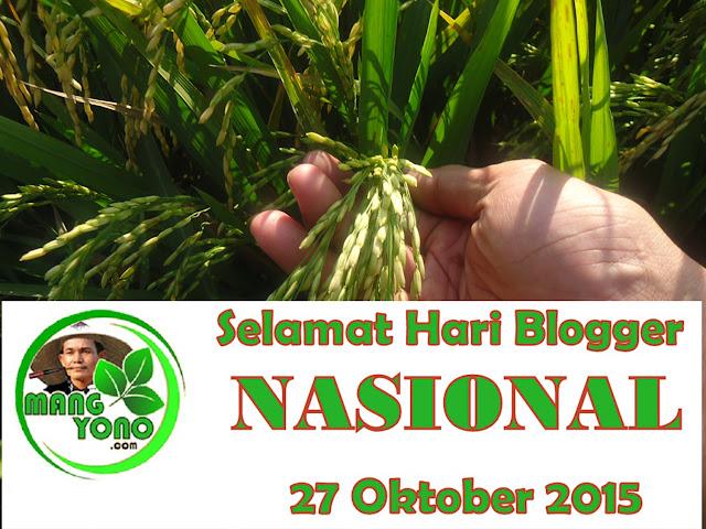 27 Oktober itu ... Hari Blogger Nasional