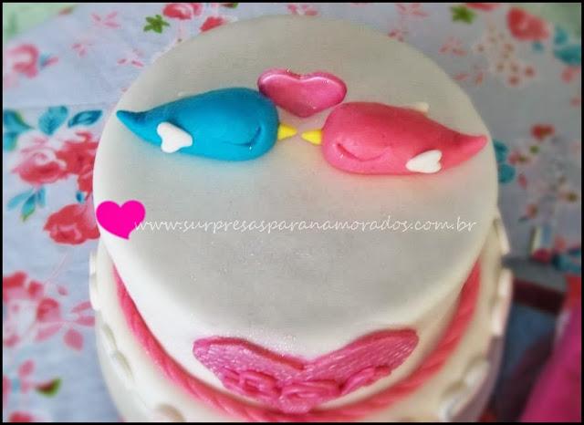 bolo festa de noivado