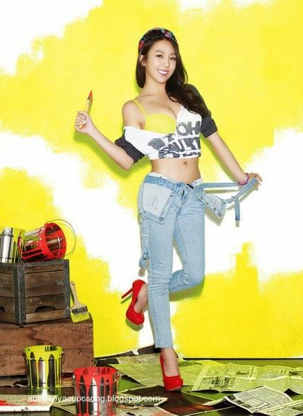 Ca sĩ Hàn Quốc làm người mẫu nội y 2