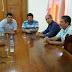 Senador Aníbal-PT, Visita Feijó e Faz Reunião com os Soldados da Borracha