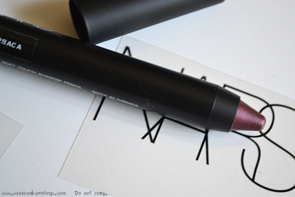 NARS Summer 2012 Makeup Collection Beauty Blog Swatches Soft Touch Eyes Shadow Pencil Calabria
