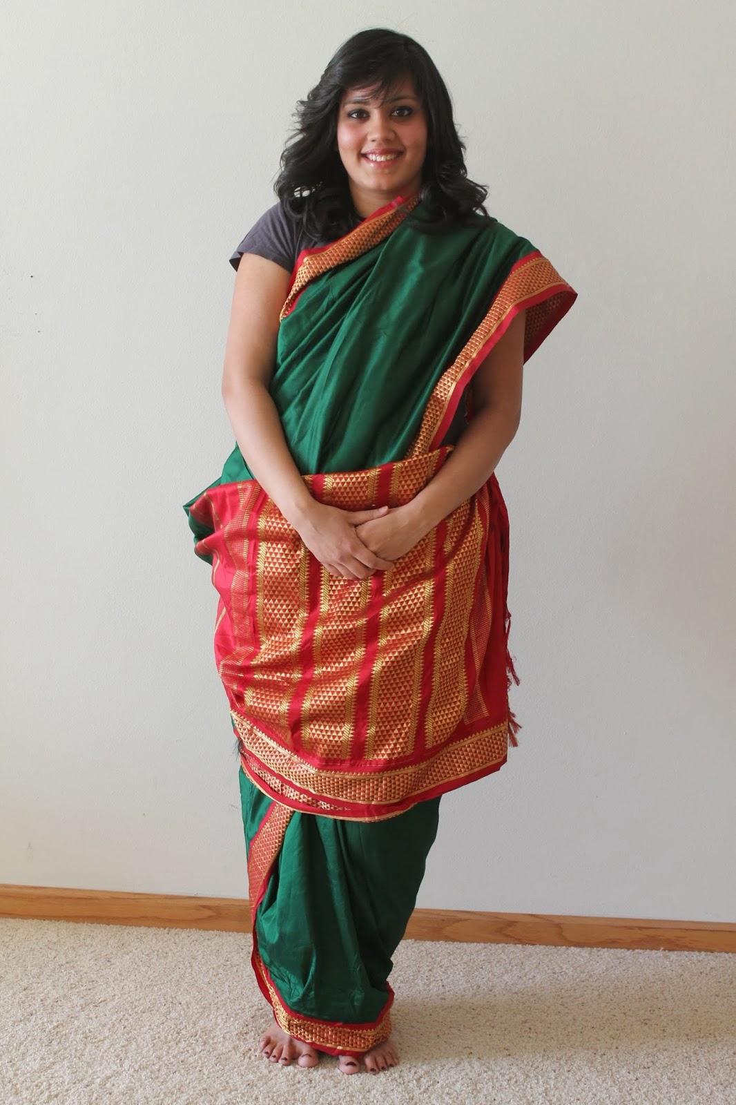 2019 year look- How to iyengar wear madisar saree