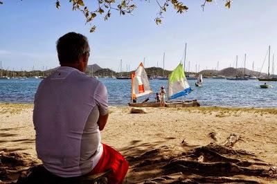Yvan Bourgnon rêve de poursuivre son Tour du Monde en catamaran de sport.