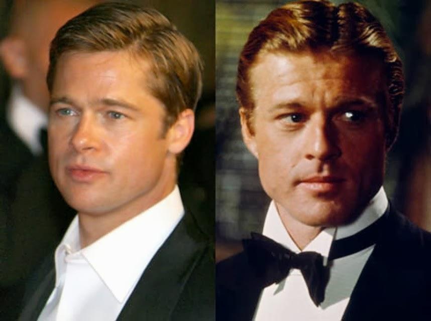 Robert Redford Brad Pitt przerazajace