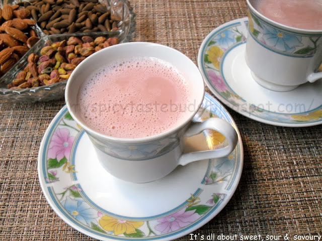 Authentic Kashmiri Tea