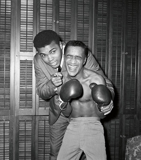 Muhammad Ali and Sammy Davis, Jr. 