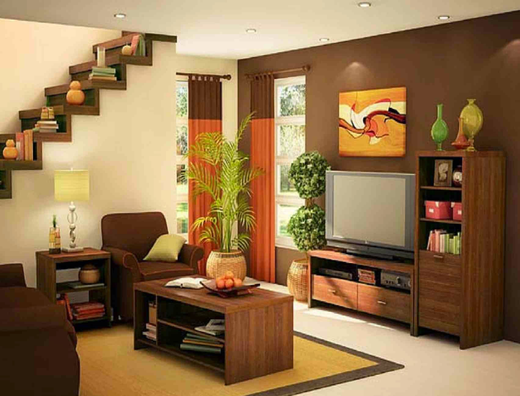 Attractive Simple Living Room Design Ideas