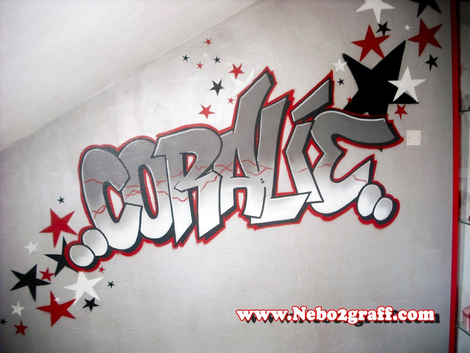 déco chambre graffiti