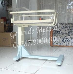 overbed baby bassinet acare berkualitas