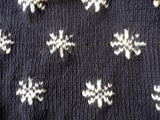 świąteczny sweter na drutach