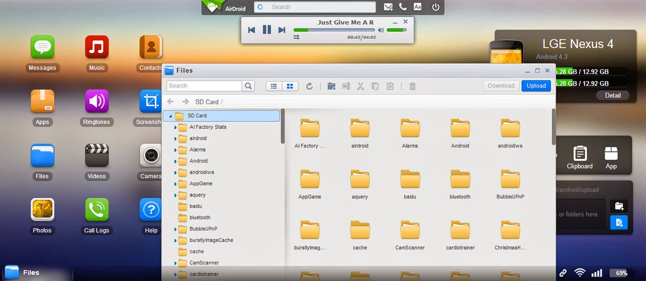 AirDroid Screenshot