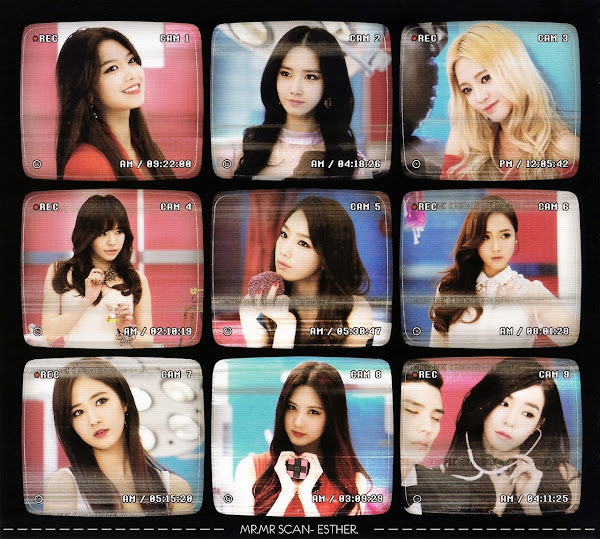 SNSD Mr Mr Photocard