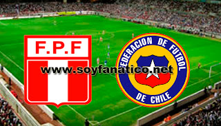 Chile vs Peru por Eliminatorias Brasil 2014