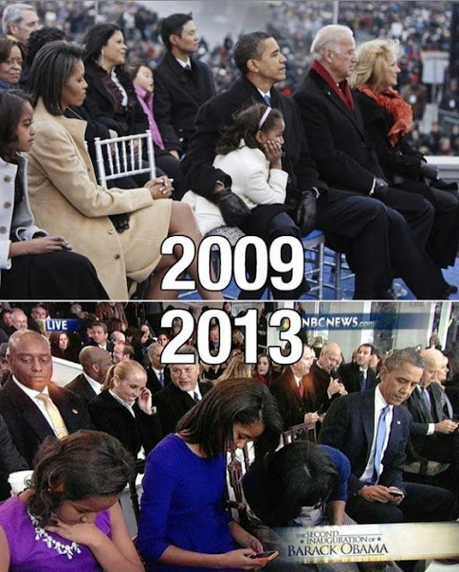 presidant Barack Obama Family Technology Evolution