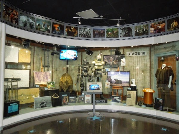 Universal Studios Hollywood costume and prop exhibit