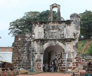 Warisan sejarah Melaka di Bandar Hilir