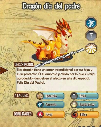 imagen de las caracteristicas del dragon dia del padre