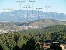 Puig-reig i la Serra de Queralt des del Bosc de Matamala