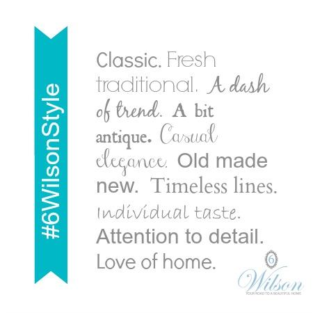 6 Wilson Style