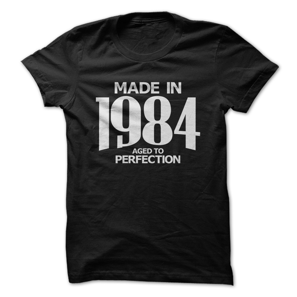 Aged To Perfection Birthday Gift T Shirts