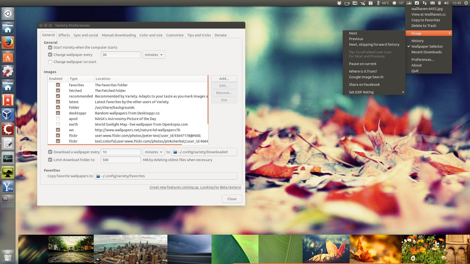 Ubuntu Wallpaper Changer