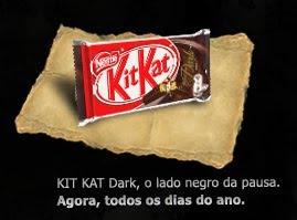 Promofever: Passatempo Nestlé Kit Kat Dark