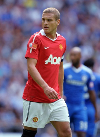 Nemanja Vidic Manchester United Champions 20 title 2011 2012