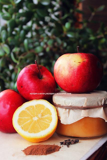 Яблочный компот с медом