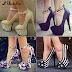 trendy high heel platform shoes