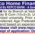 Repco Home Finance Trainee Recruitment 2015 | www.repcohome.com