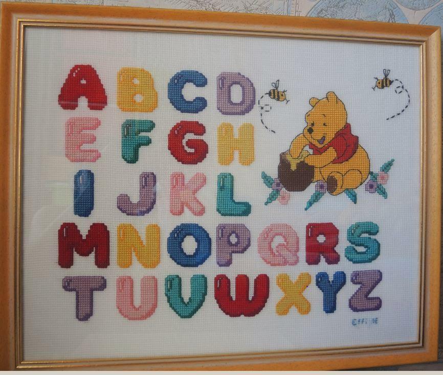 Алфавит буквы английский вышивка