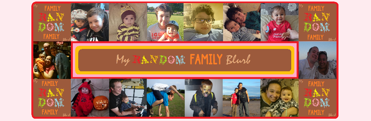 My Random Family Blurb