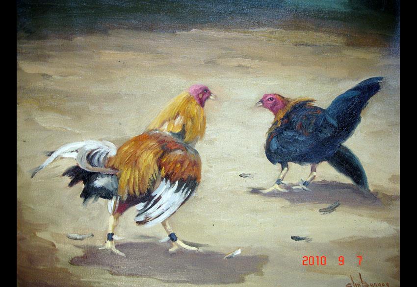 Elio Burgos  El Poeta del Pincel        Sus Pinturas 2