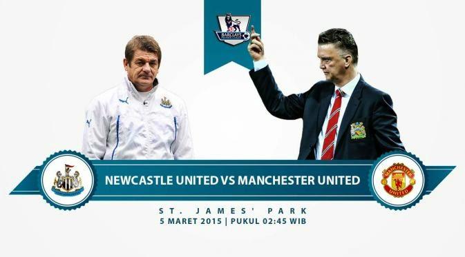 Newcastle vs Manchester United Liga Inggris 2015
