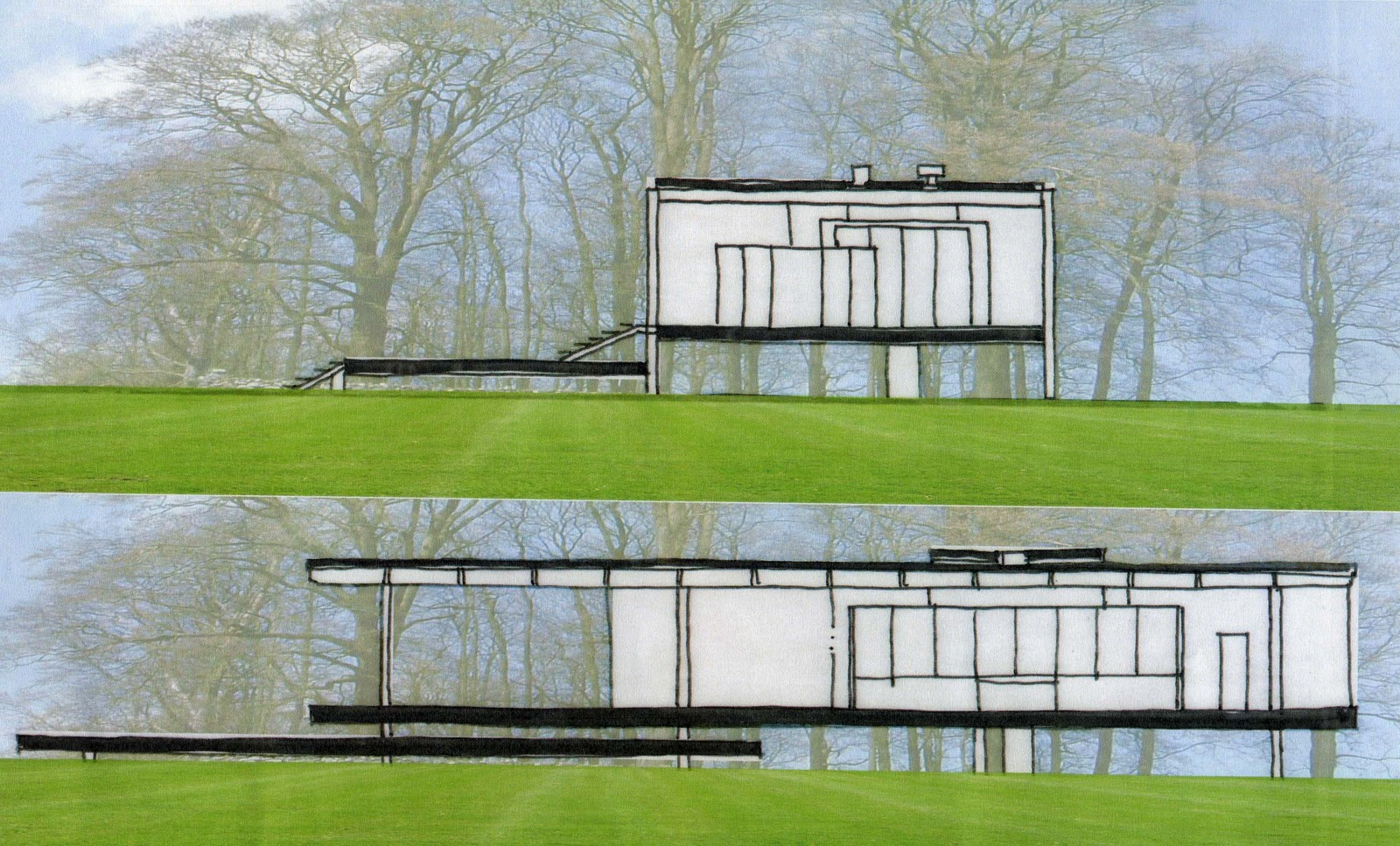 5 Homes That Prove That Less Is More: Experiencing Architecture With A New Depth.......: Less Is