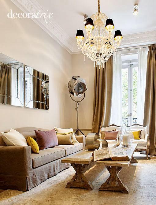 Estilo iii cl sico moderno decoraci n patri blanco for Renovar salon clasico