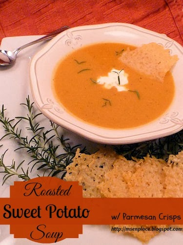 Ms. enPlace: Roasted Sweet Potato Soup & a Sweet Potato ...