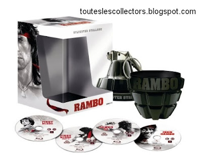 DVD Rambo Coffret Collector Blu-Ray