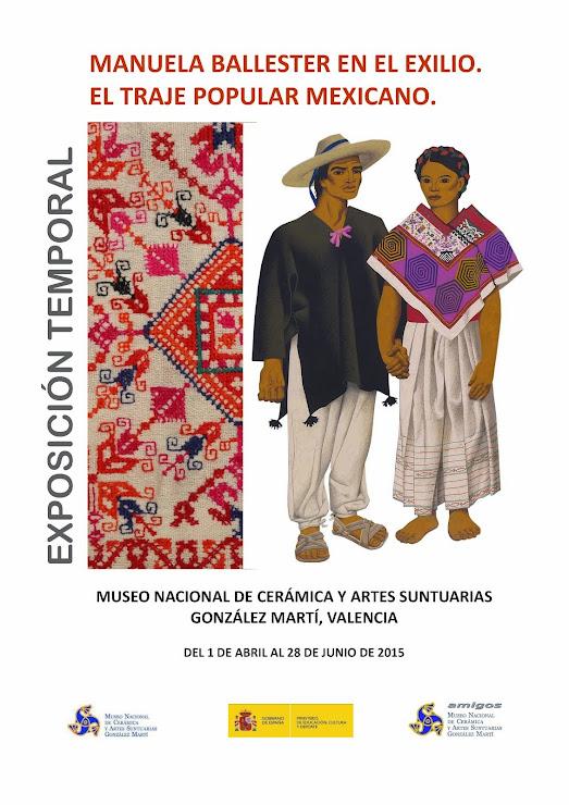 EXPOSICIÓN TRAJE MEXICANO