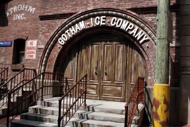 Universal Studios Singapore - Gotham Ice Company