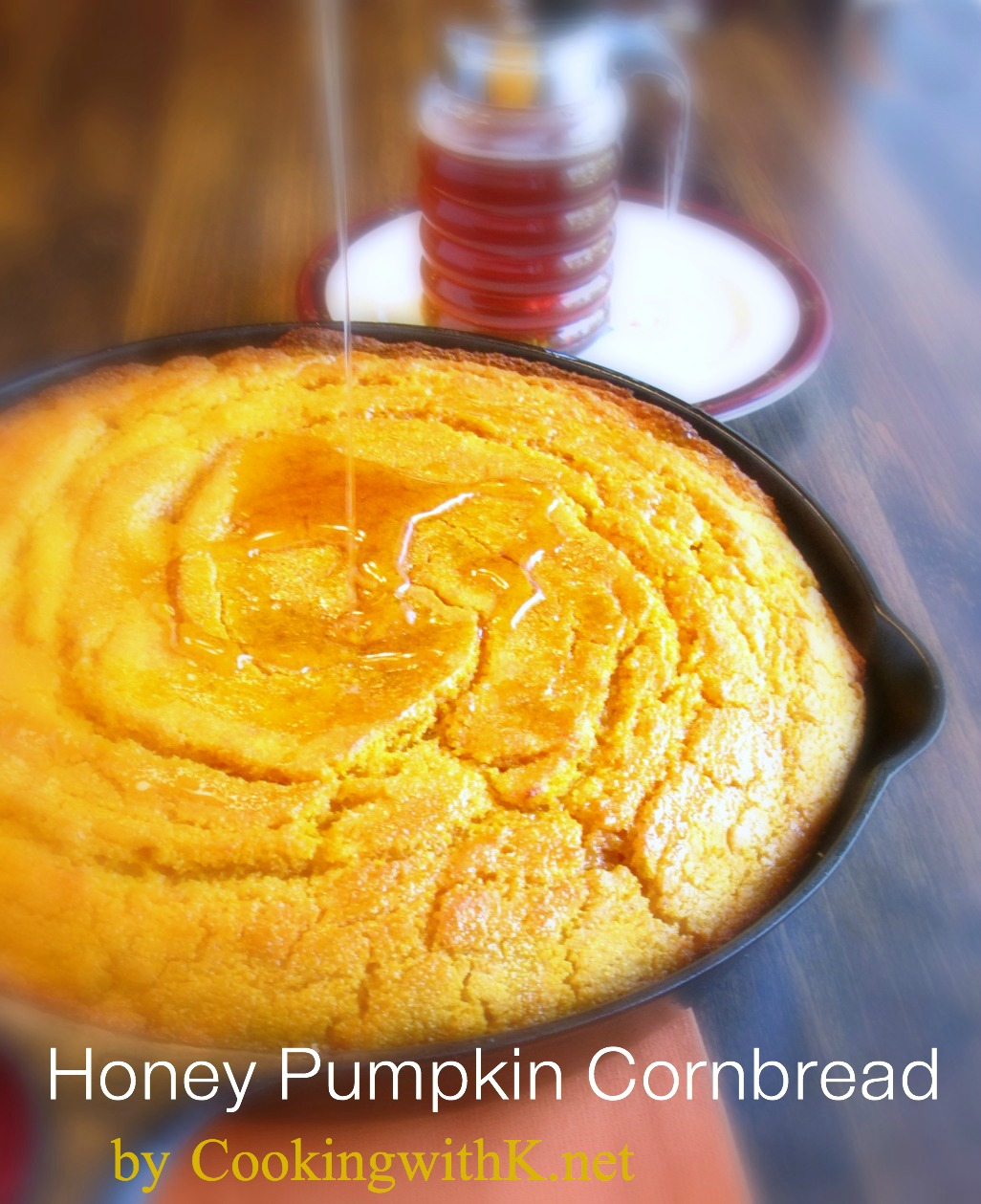 Cooking with K - Southern Kitchen Happenings: Honey Pumpkin Cornbread