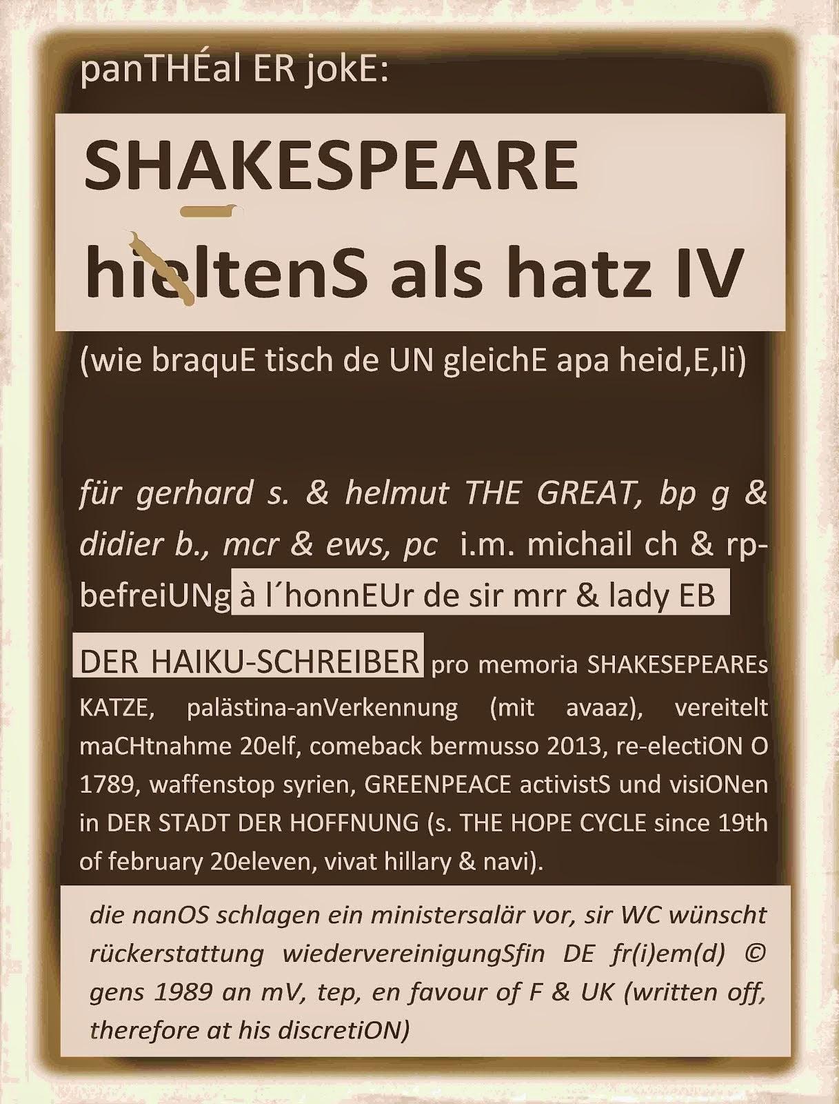 hatz IV de UNgerecht, in schweiz wie deutschland illegal hereibgeführt - kulturförderUNg? protest